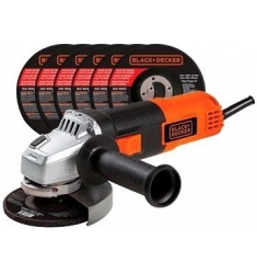 ESMERIL BLACK & DECKER G720+10 DISCOS