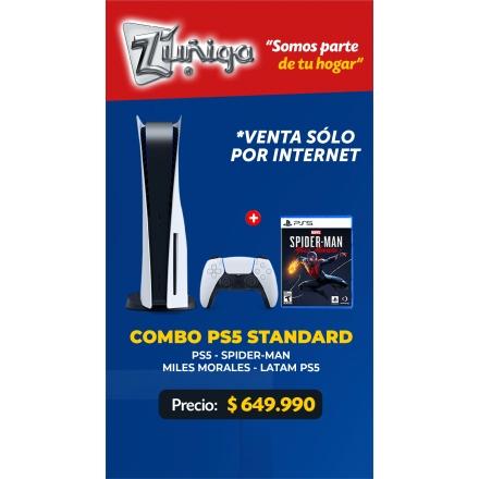 JUEGO (CONSOLA) SONY PS5 HW+SPIDERMAN