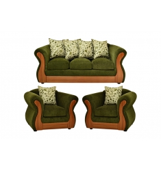 LIVING DECO MUEBLES MARCELA 311 VERDE