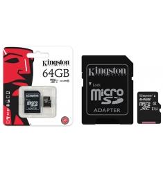 MEMORIA PORTATIL KINGSTON 64 GB MICRO SD