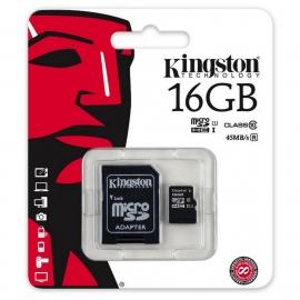 MEMORIA PORTATIL KINGSTON MICRO SD 16GB