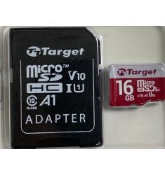 MEMORIA PORTATIL TARGET MICRO SD 16GB