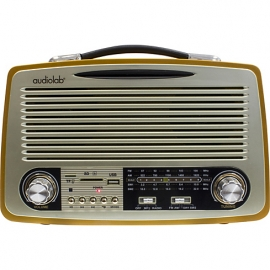 RADIO PORTATIL AUDIOLAB BT RETRO 01