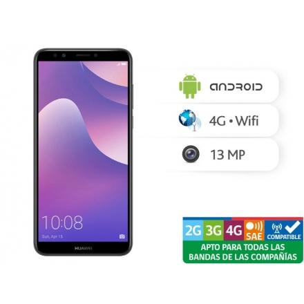 TELEFONO CELULAR MOVISTAR HUAWEI Y7 2018 NEGRO
